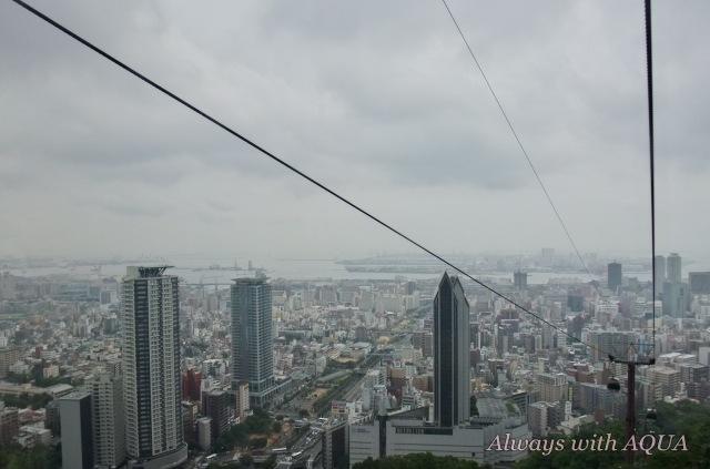 神戸を俯瞰しながら