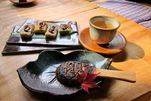 生麩の田楽味噌、焼き蕎麦味噌
